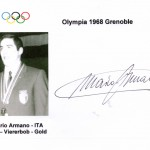Mario Armano Campione Olimpico bob a 4, Grenoble 1968