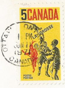 Francobollo emesso dal Canada nel 1968