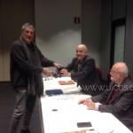 Andrea Francesconi premiato da Brivio