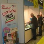 Lo stand dell'UICOS a Milanofil