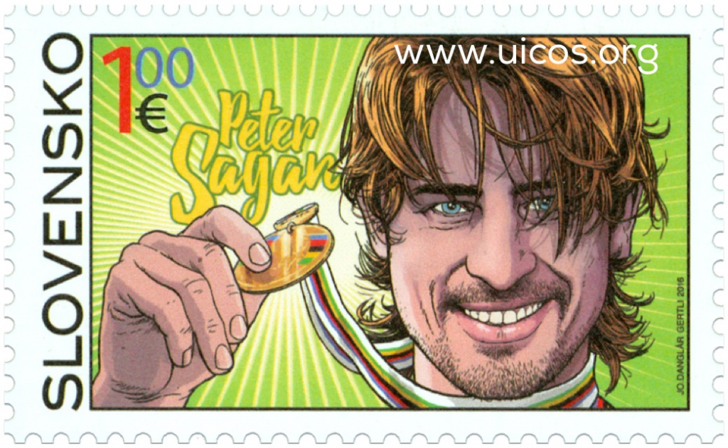 Peter Sagan francobollo