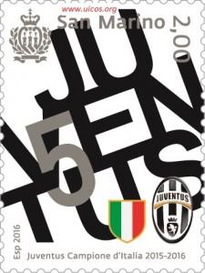 UFN francobollo Juve uicos