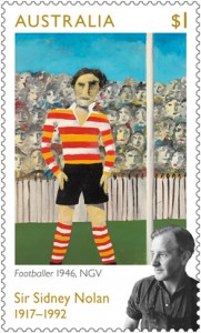 $1_Sir-Sidney-Nolan_Footballer-1946-NGV_Stamp_2017_low-res
