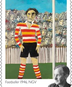 $1_Sir-Sidney-Nolan_Footballer-1946-NGV_Stamp_2017_low-res