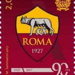 francobollo singolo_90 anniversario fondazione AS ROMA (definiti