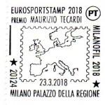 Annullo Eurosporstamp 2018  Milano 23 marzo 2018